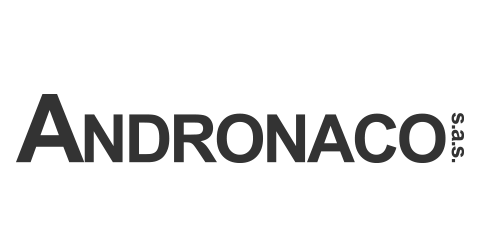 Andronaco S.A.S Logo in grey